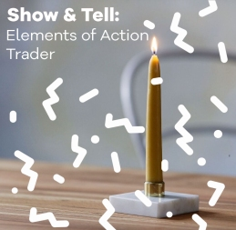 elements-of-action-candle-marble