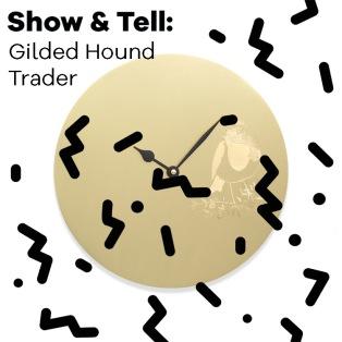 gilded-hound-robin-clock